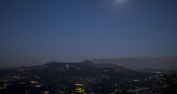 カルデラ夜景